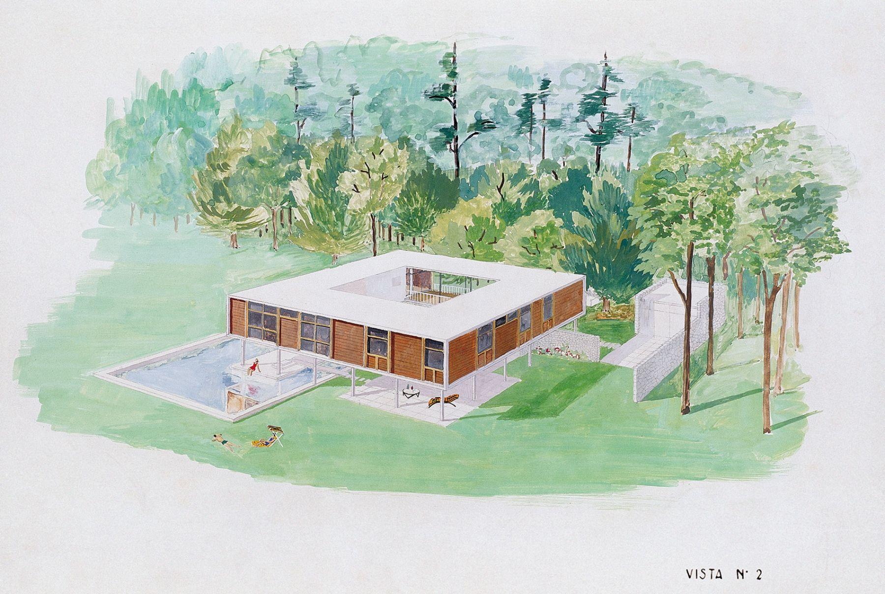 Casa en el Parque Pereyra Iraola