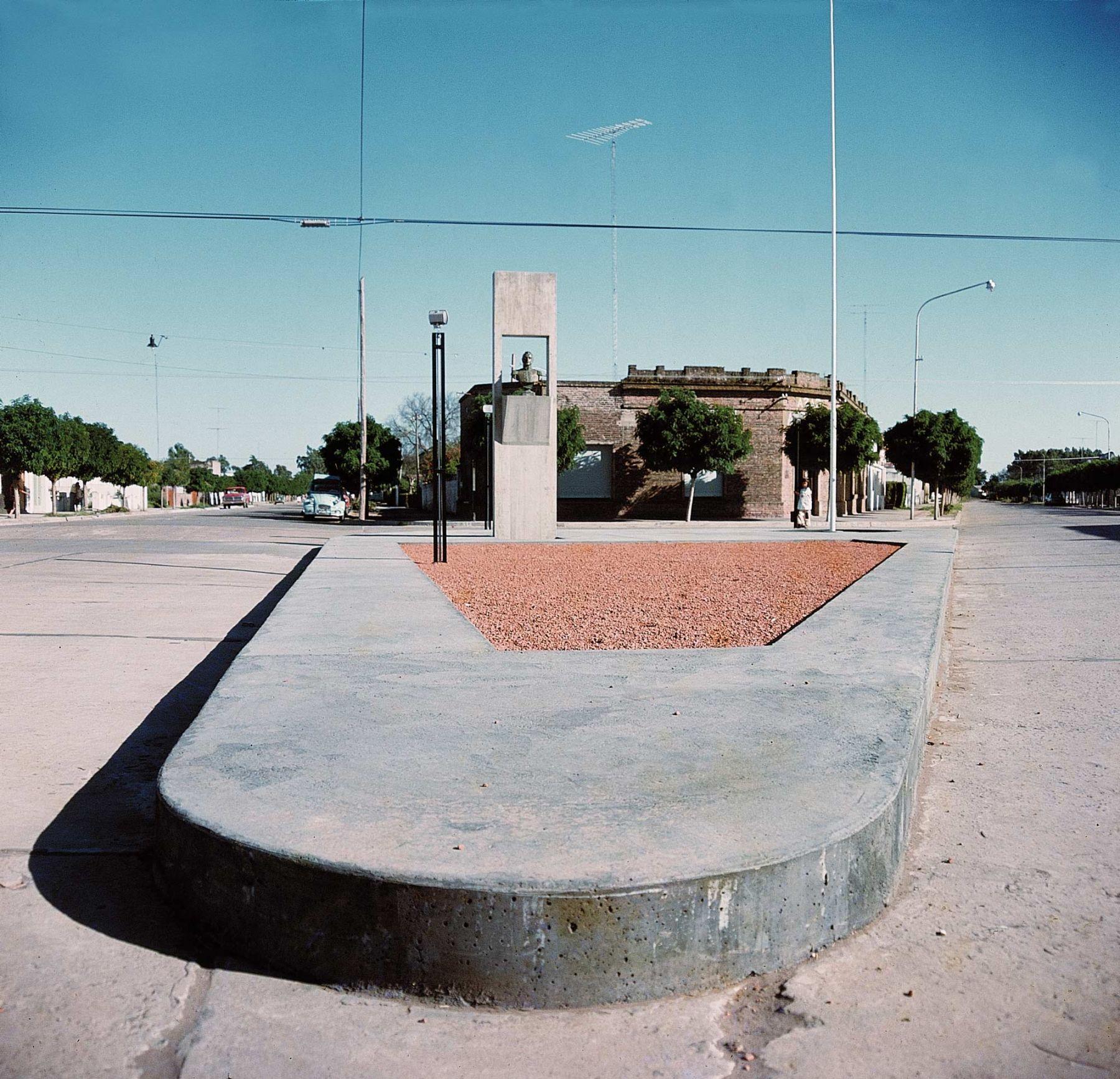 Monumento al General San Martín en Pirovano